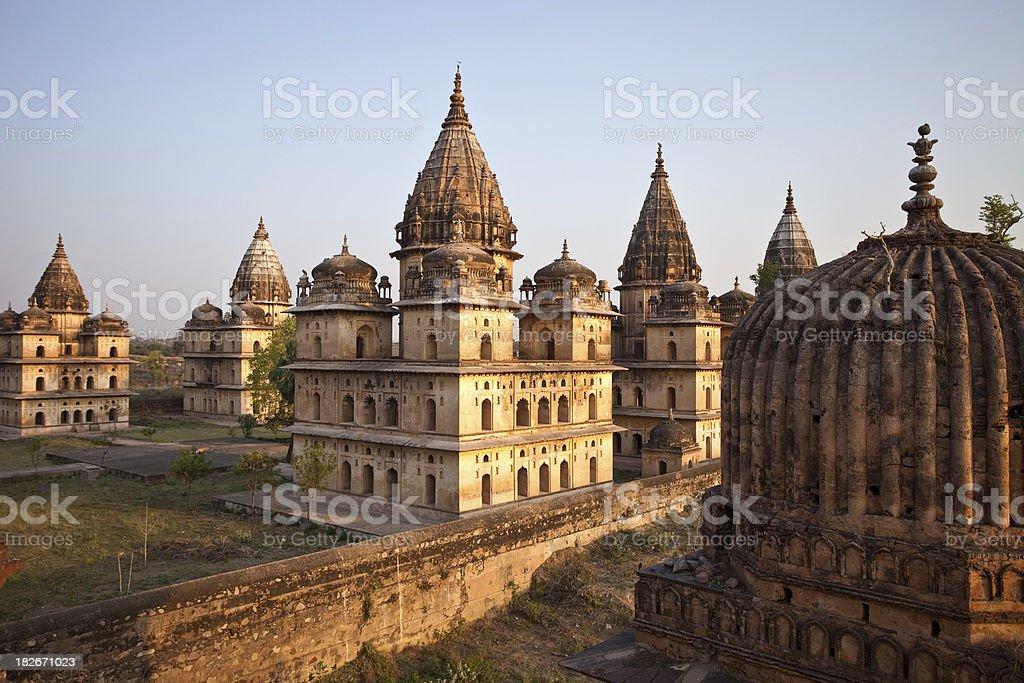 Orchha, India stock photo
