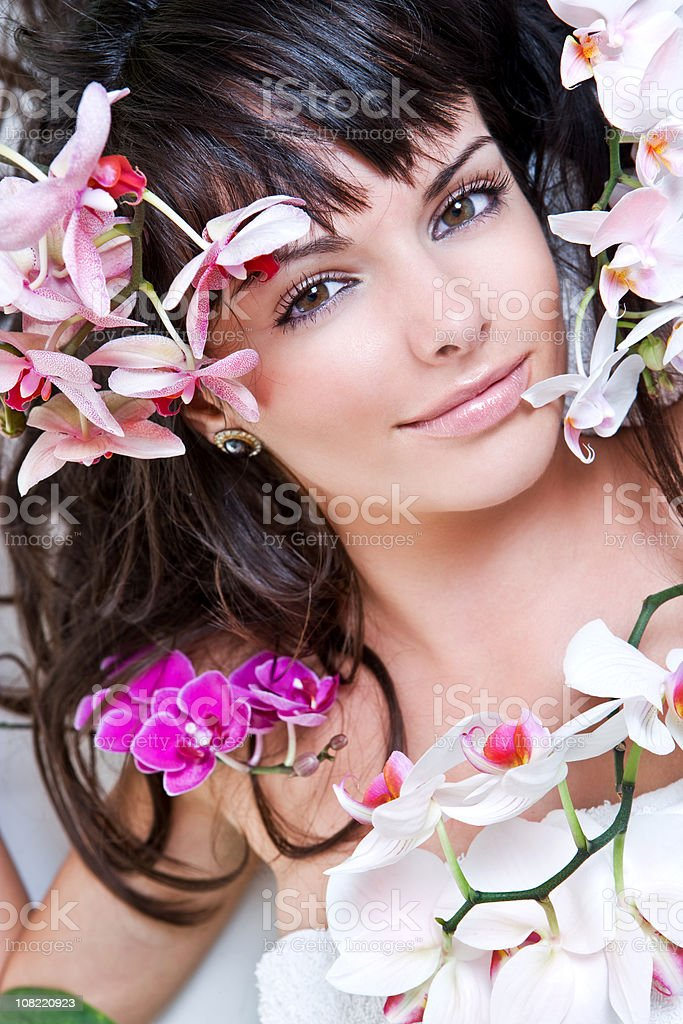 Orchid beauty royalty-free stock photo