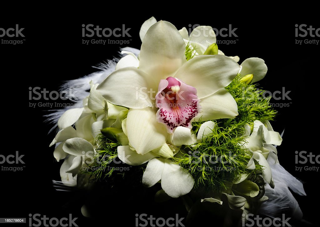 orchid bouquet royalty-free stock photo
