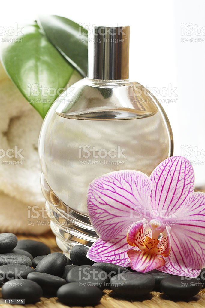 Orchid perfume royalty-free stock photo