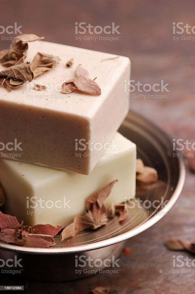 Orchid Soap royalty-free stock photo