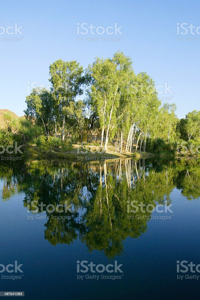 Ord River, The Kimberley, Western Australia royalty-free stock photo