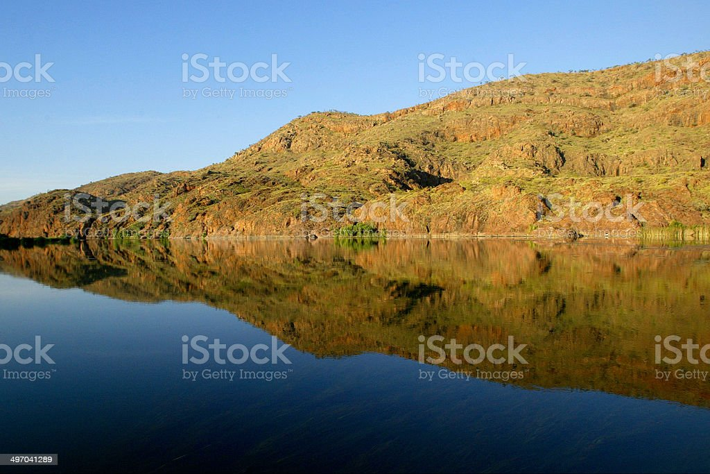 Ord River, The Kimberley, Western Australia royalty-free stock photo