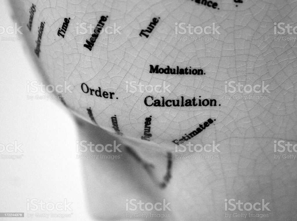 Order and Calculation royalty-free stock photo
