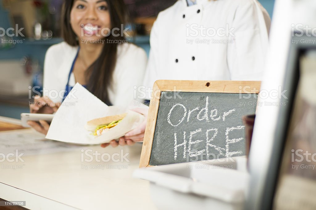 Order Here royalty-free stock photo