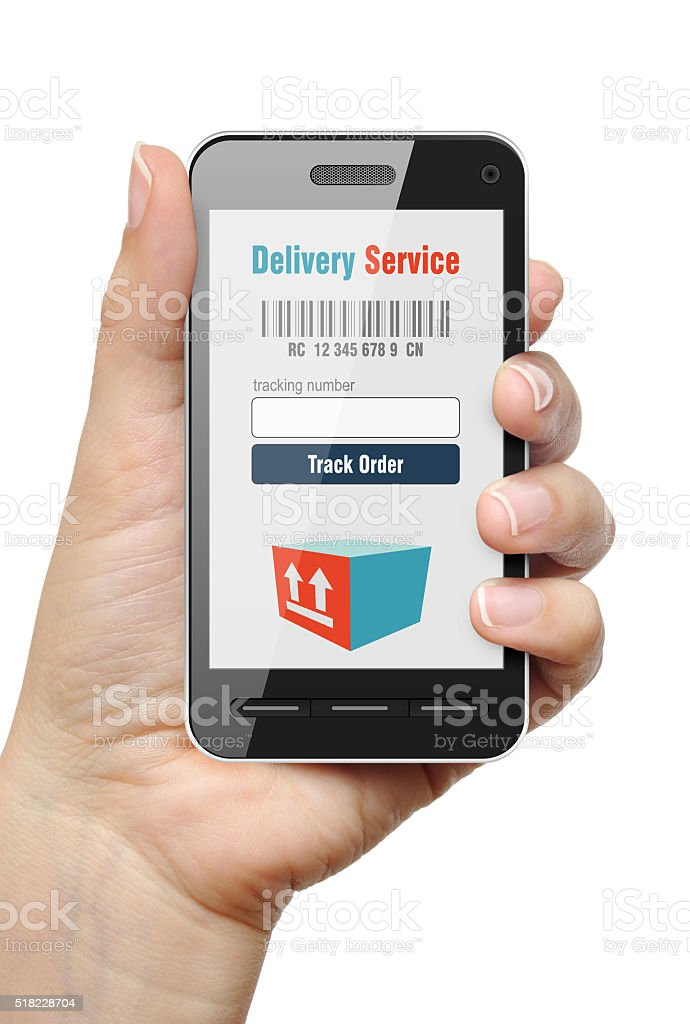 Order Tracking concept stock photo