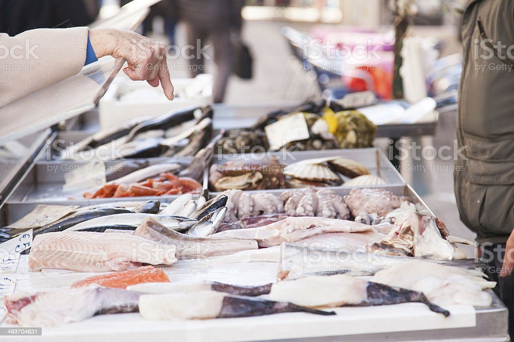 Order Venice Fresh Seafood stock photo