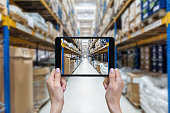 Ordering on-line from a new distribution warehouse