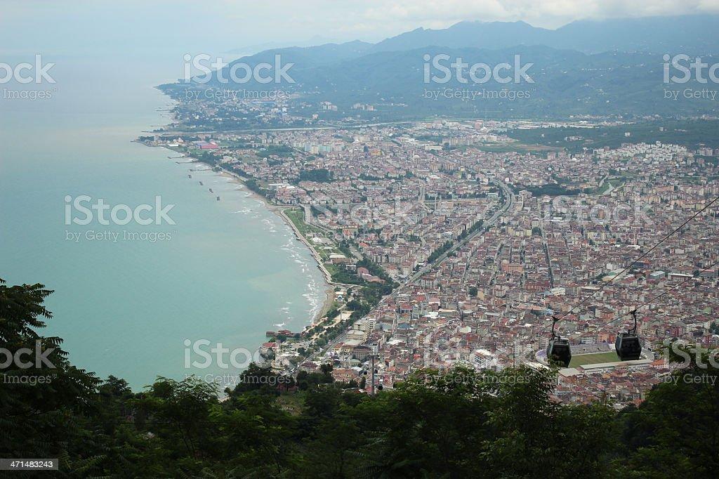 Ordu city view royalty-free stock photo