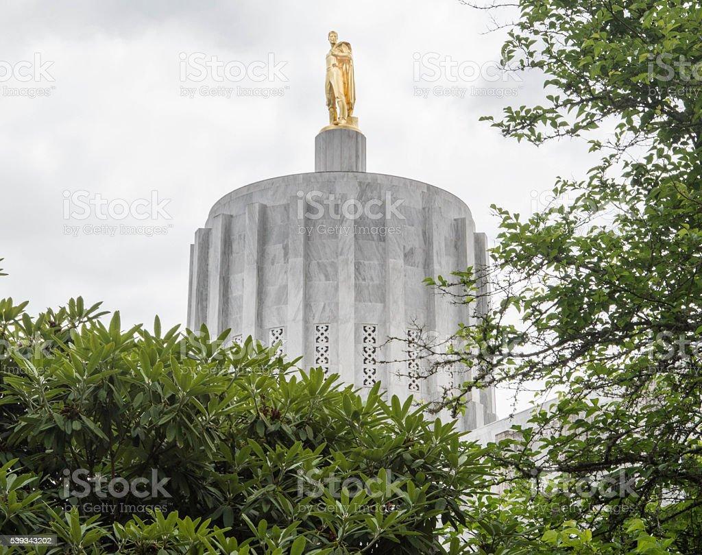 Oregon Capitol Building stock photo