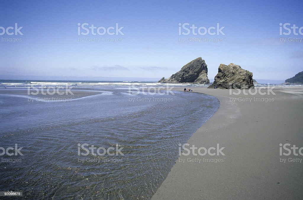 Oregon Coast 4 royalty-free stock photo