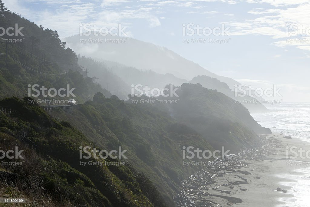 Oregon Coast royalty-free stock photo