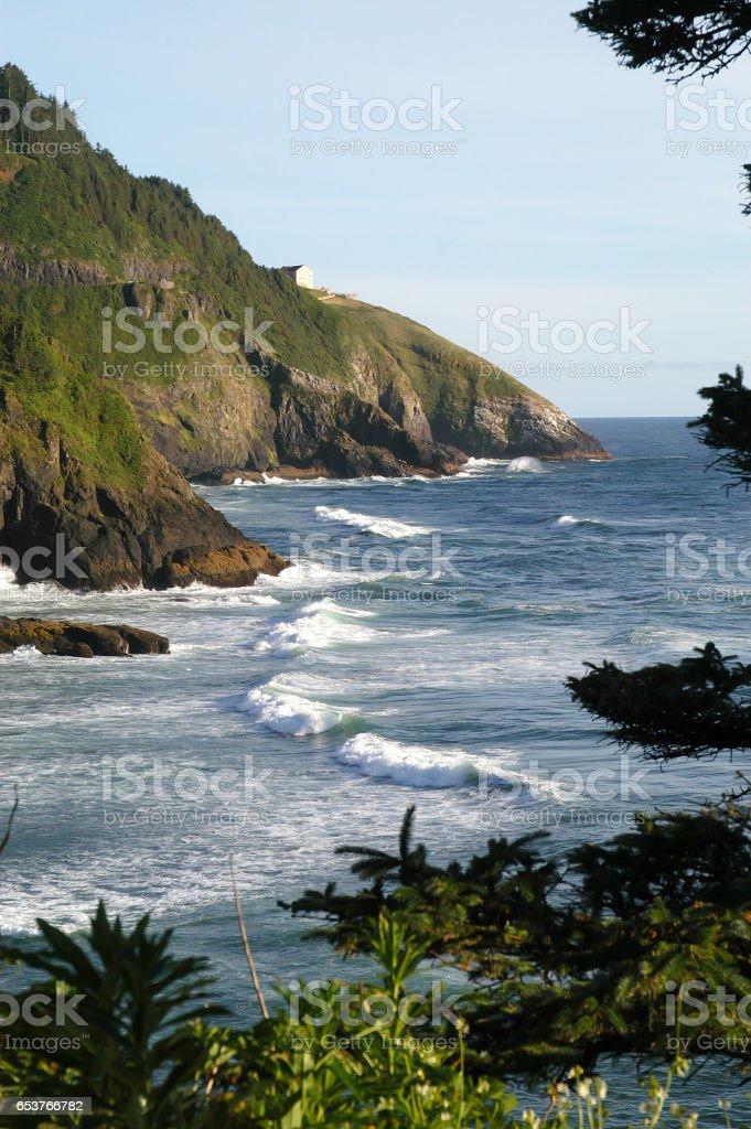 Oregon Coast stock photo