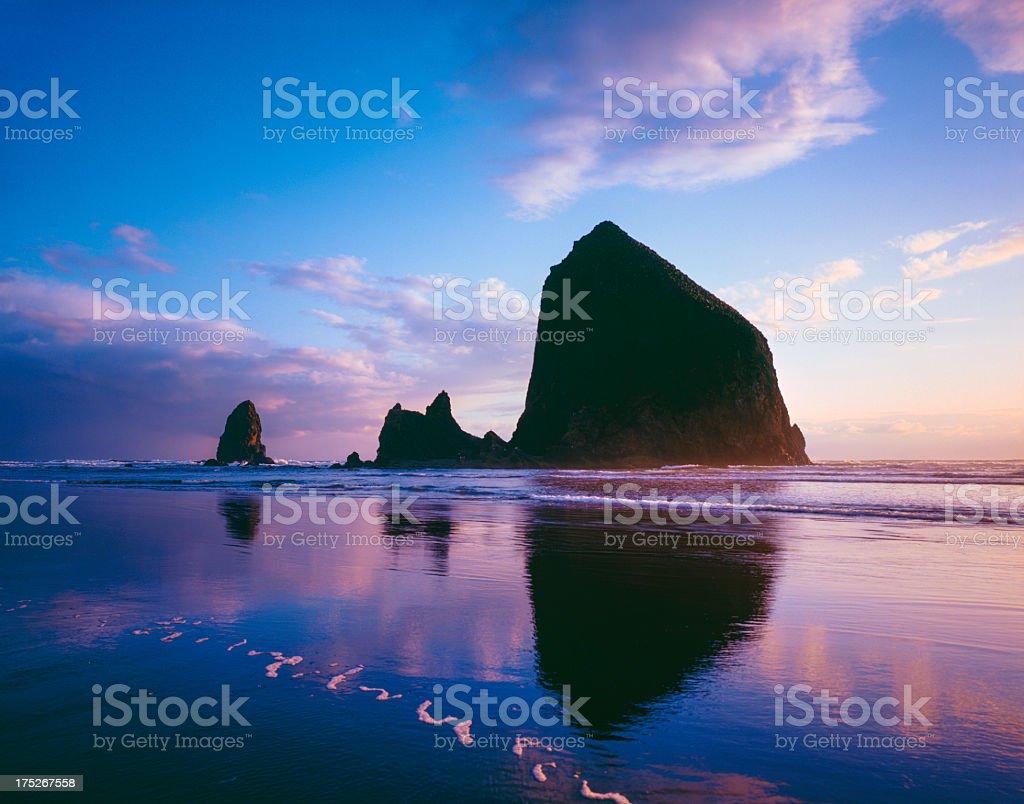 Oregon Coastline stock photo