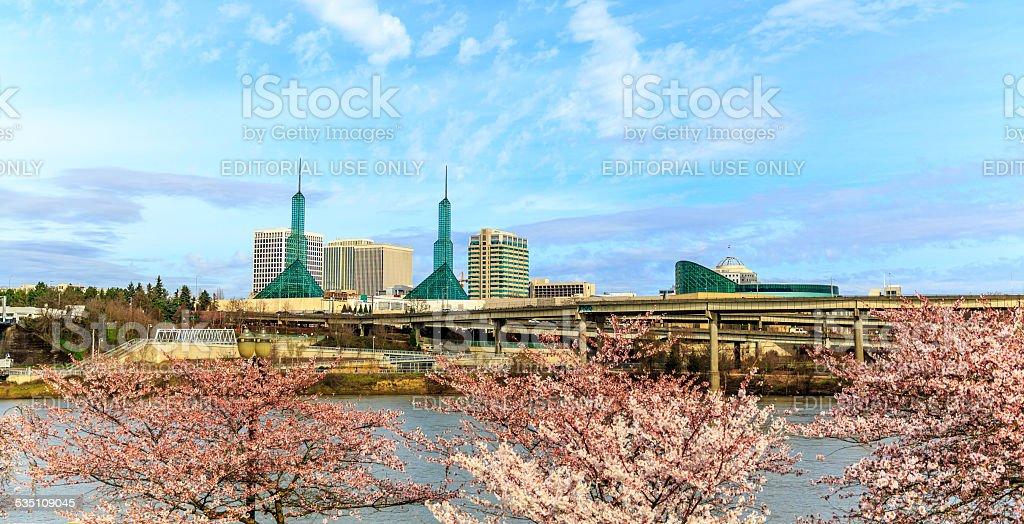 Oregon Convention Center stock photo