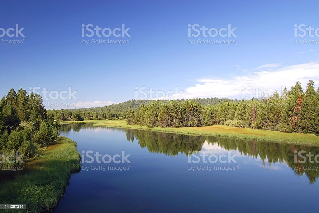 Oregon country royalty-free stock photo