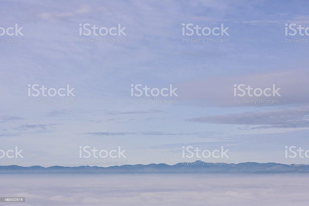 Oregon Mountain Range stock photo