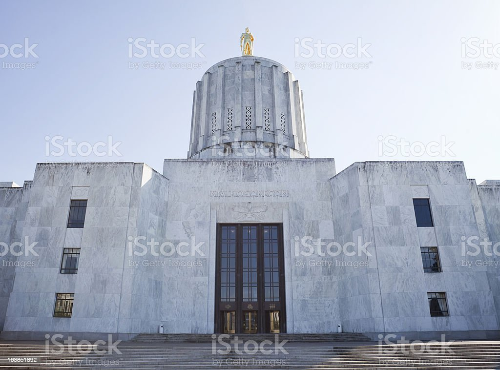 Oregon State Capitol Building royalty-free stock photo