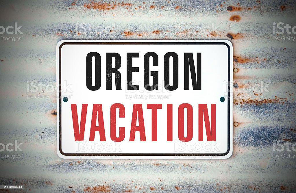 Oregon Vacation stock photo