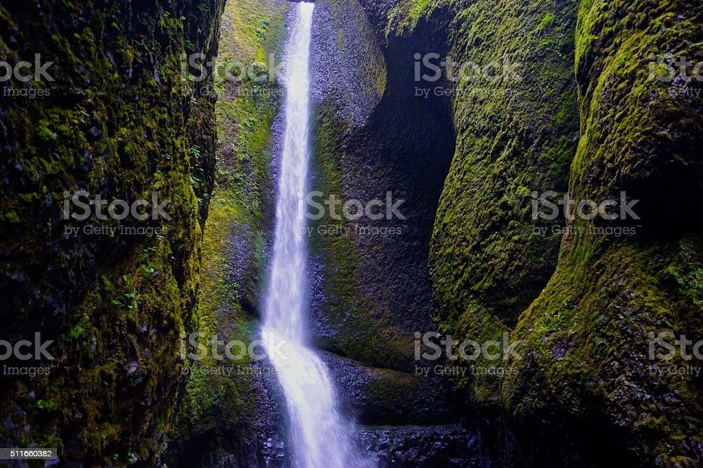 Oregon's Oneonta Gorge stock photo
