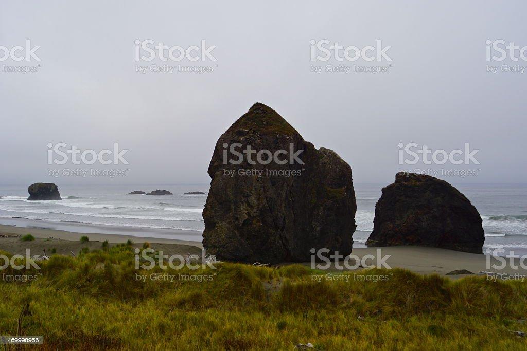 Oregon's Pistol River Zone stock photo