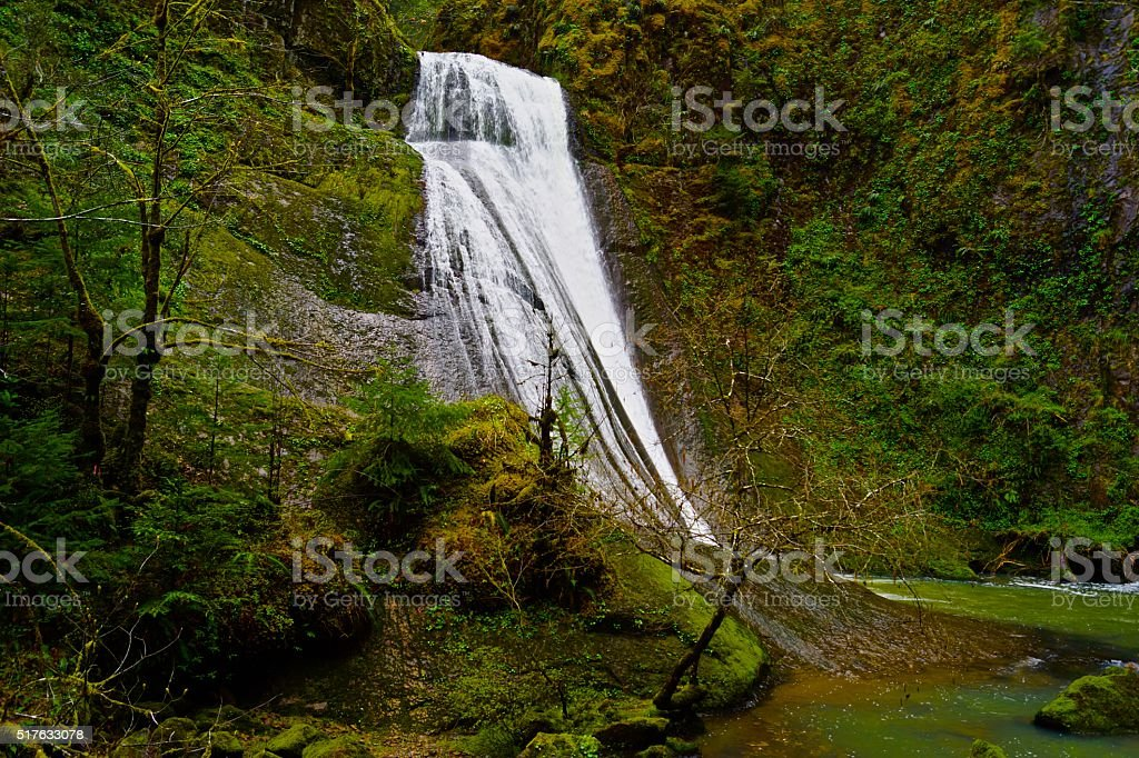 Oregon's Wolf Creek stock photo