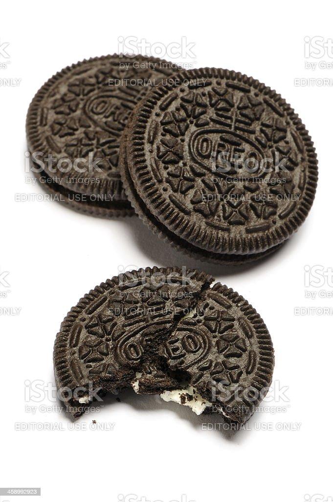 Oreo cookies royalty-free stock photo