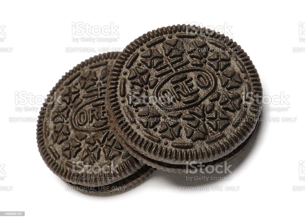 Oreo cookies stock photo
