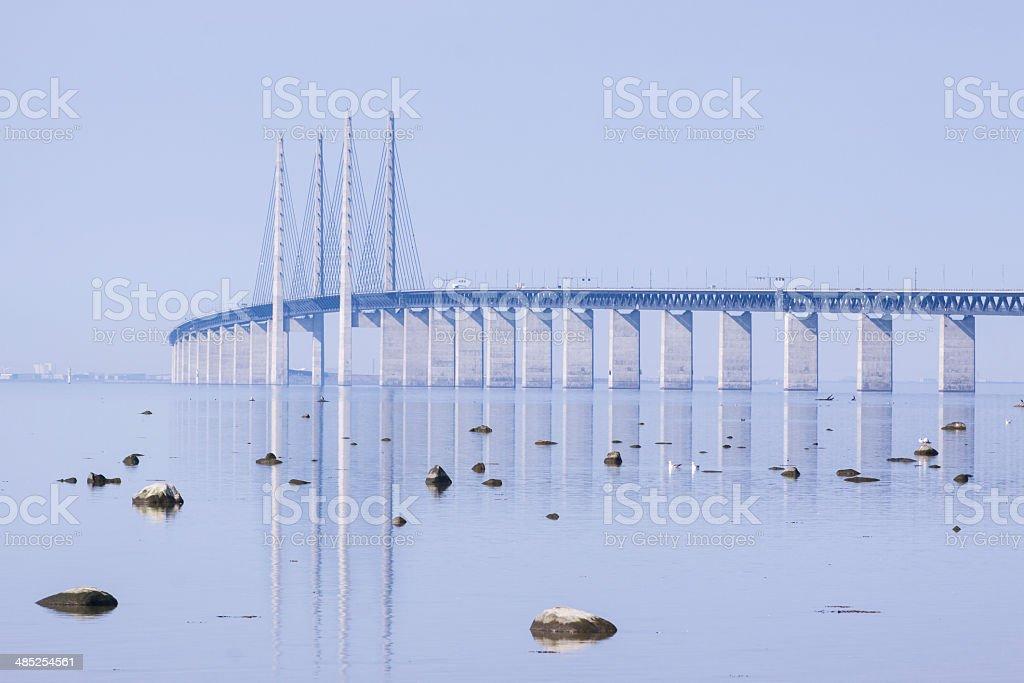 Oresundsbron stock photo