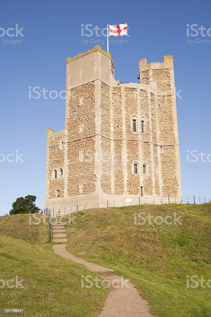 orford castle royalty-free stock photo