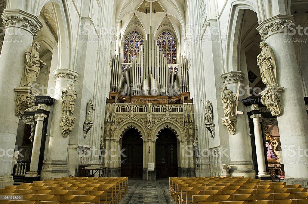 organ back royalty-free stock photo
