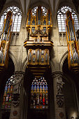 Organ in the Cathedral of St Michael and St Gudula