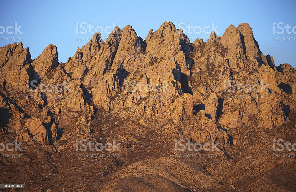 Organ Mountains in Scenic New Mexico royalty-free stock photo