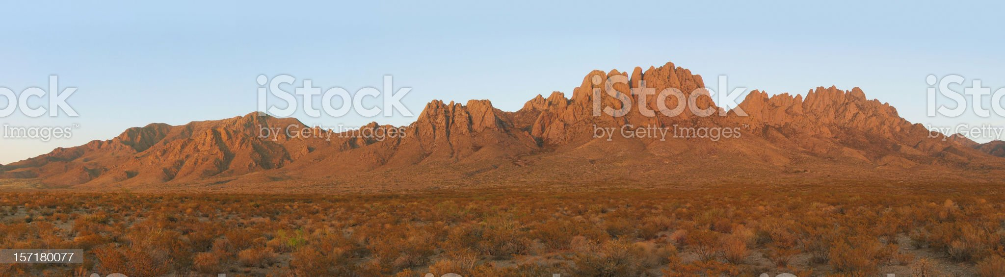 Organ Mountains, Las Cruces, NM royalty-free stock photo