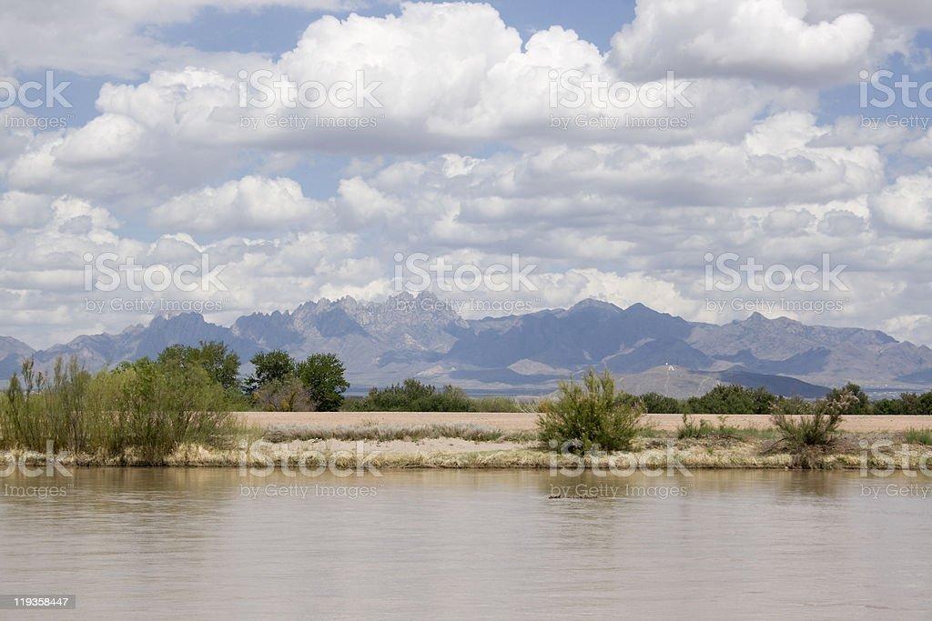 Organ Mountains royalty-free stock photo
