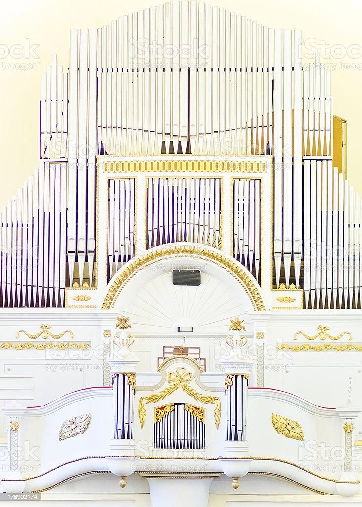 Organ royalty-free stock photo
