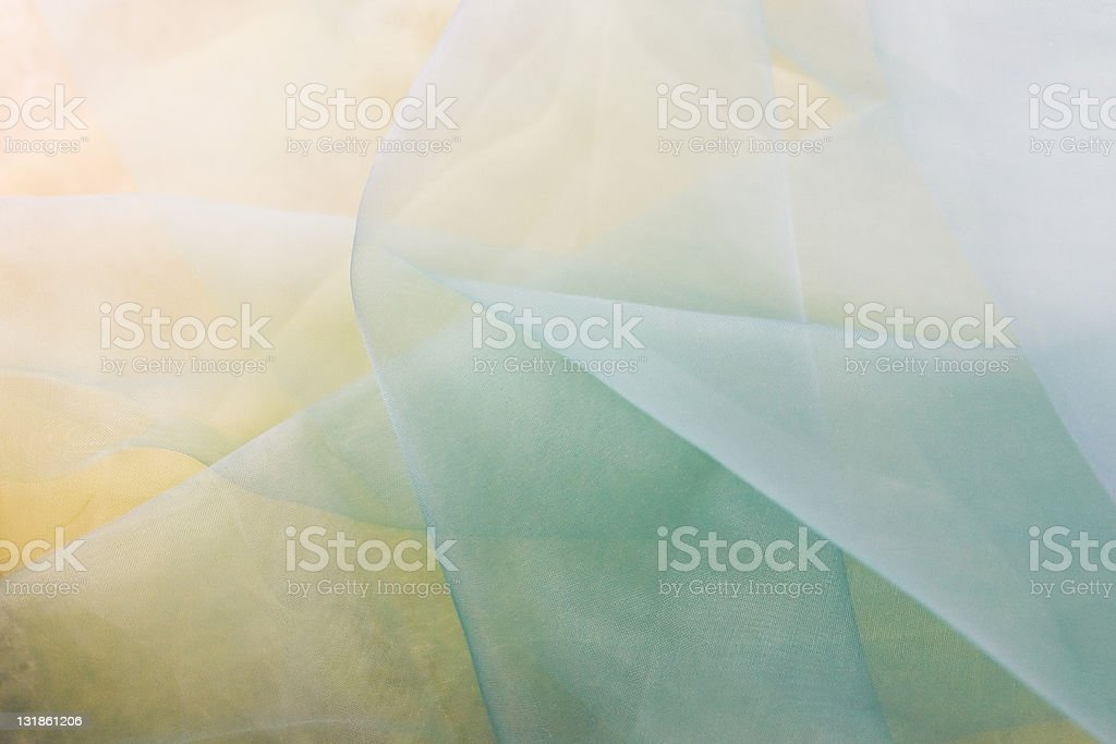 Organdy textile royalty-free stock photo