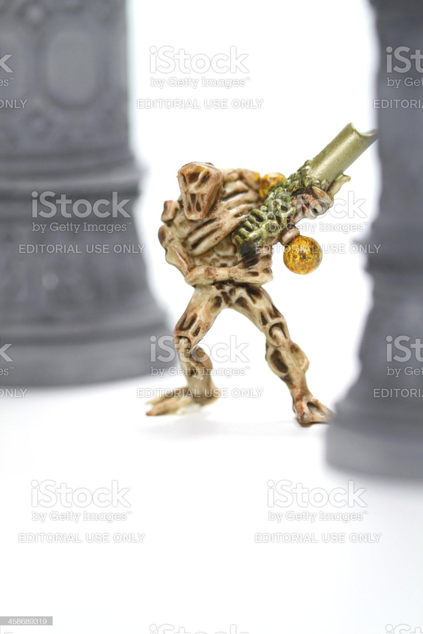 Organic Alien royalty-free stock photo