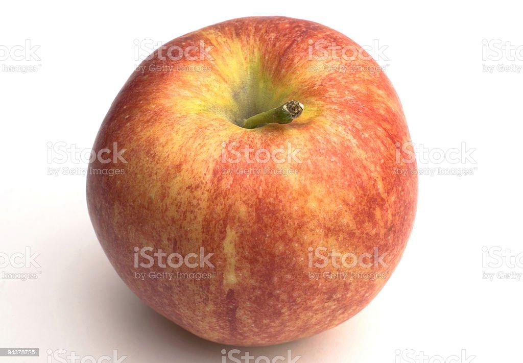 Organic Apple royalty-free stock photo