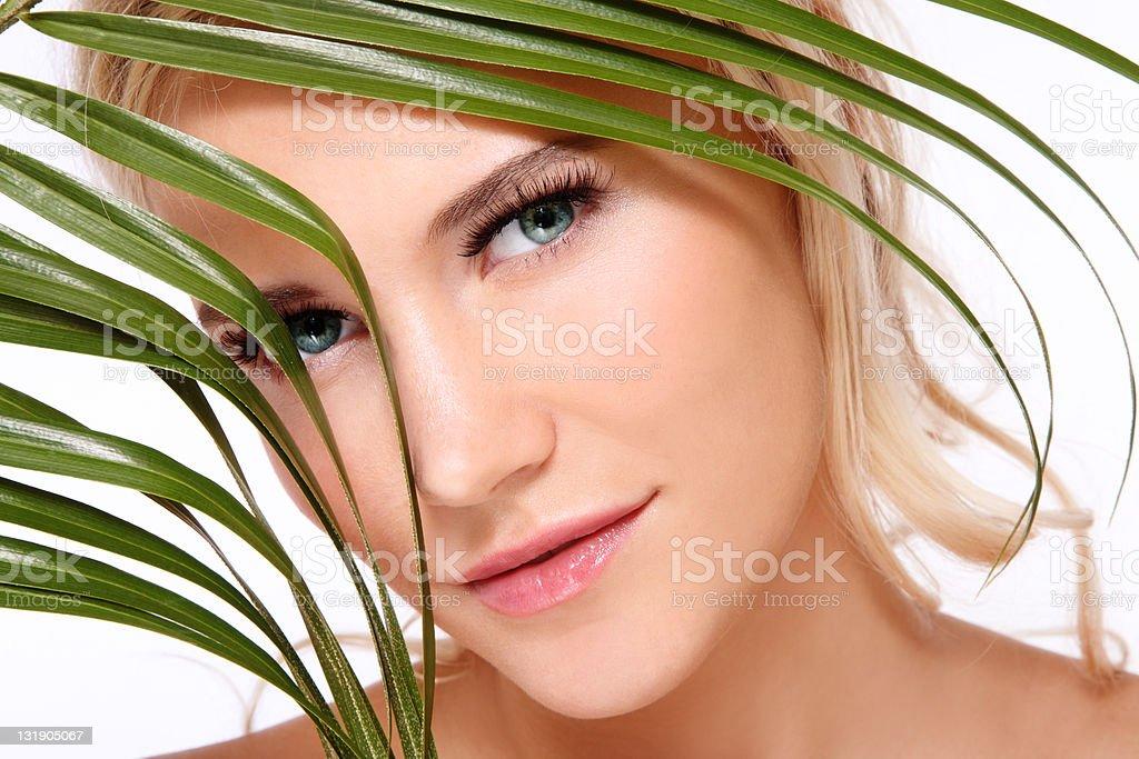 Organic beauty royalty-free stock photo