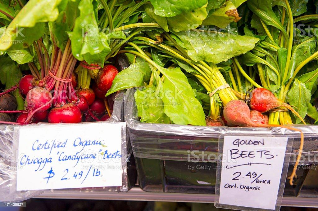Organic Beets royalty-free stock photo