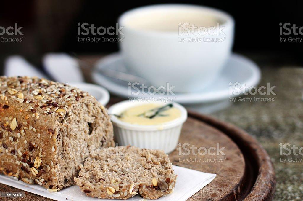 Organic bread royalty-free stock photo