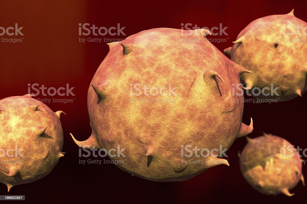 Organic Cell royalty-free stock photo