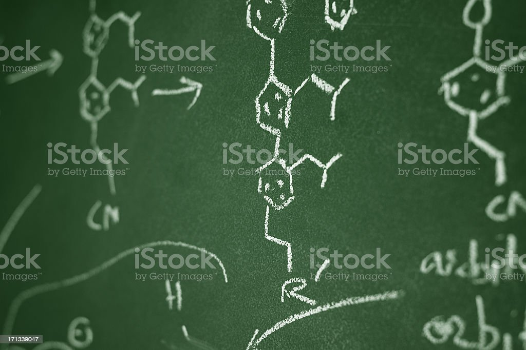 Organic Chemistry stock photo