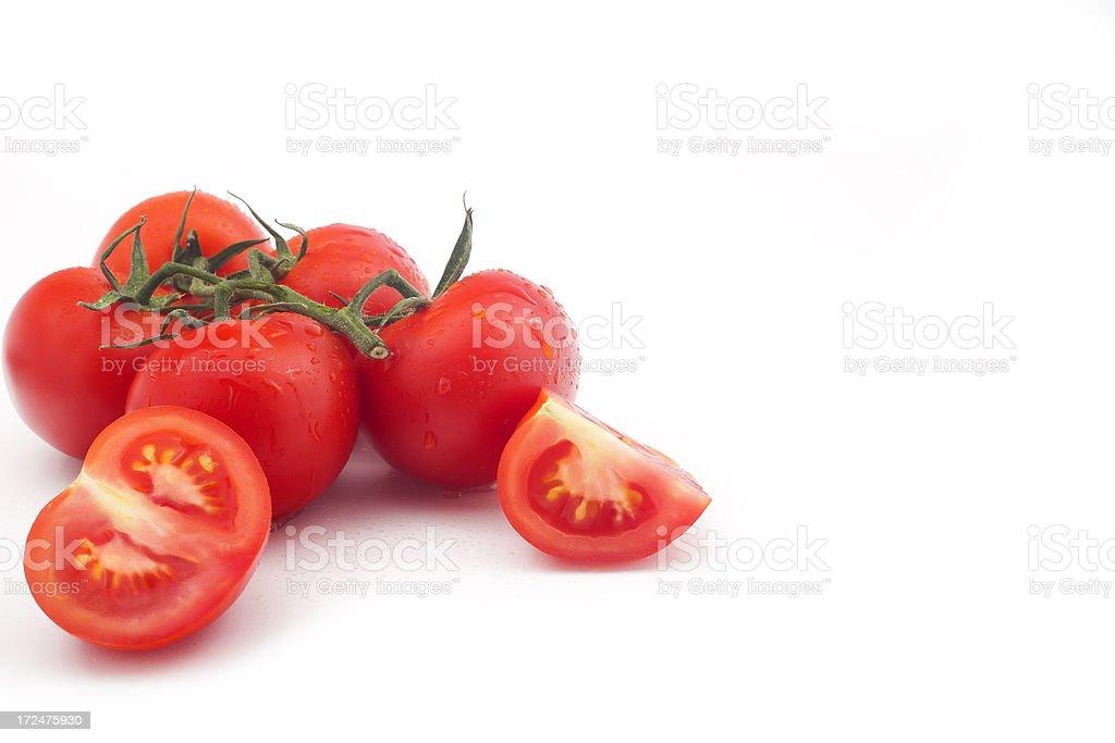 organic cherry tomato royalty-free stock photo