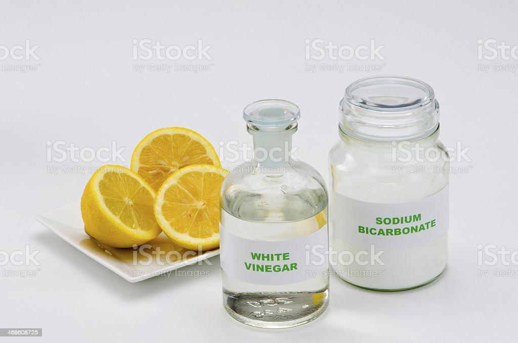 Organic cleaners stock photo