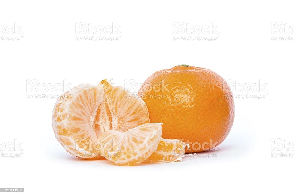 Organic Clementine royalty-free stock photo