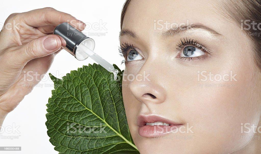 organic cosmetic royalty-free stock photo