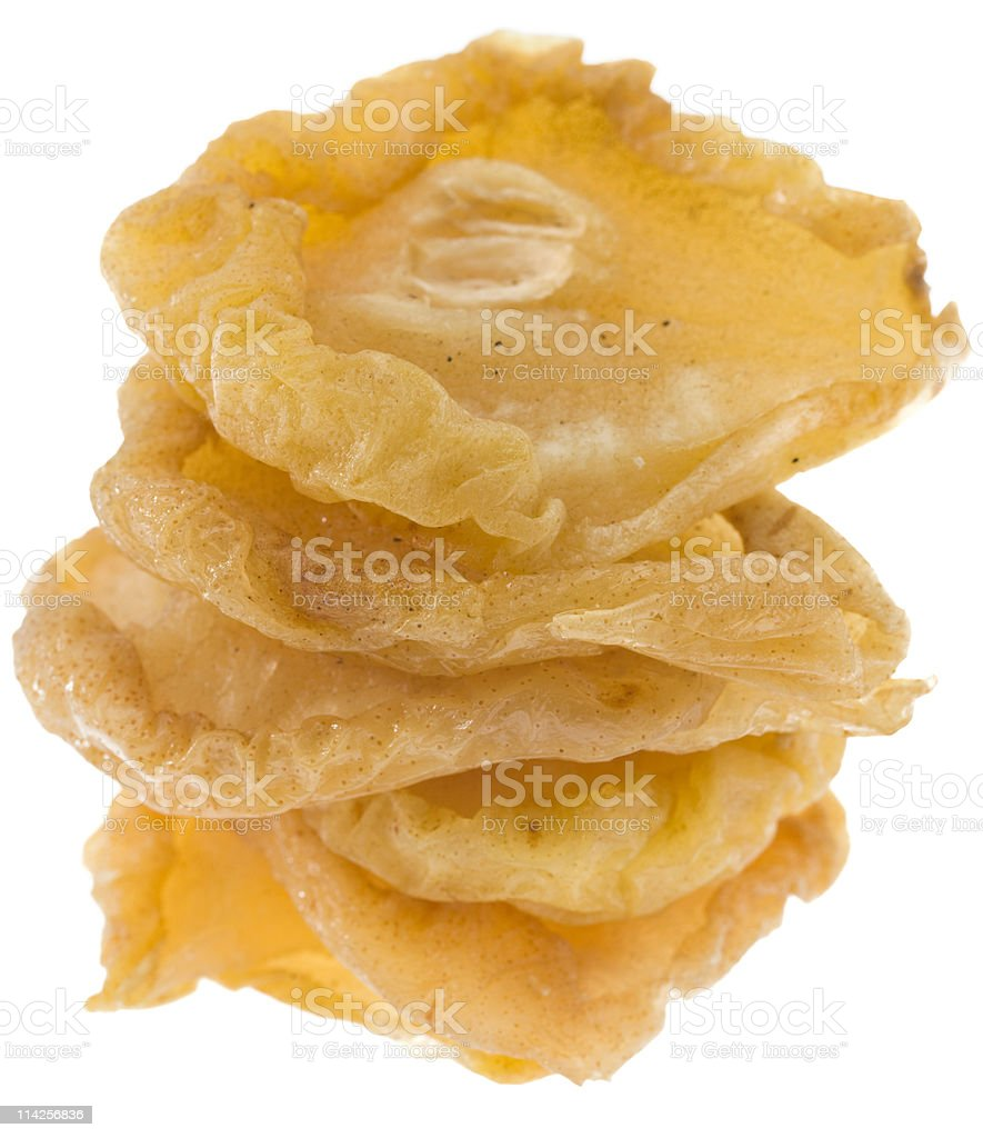 Organic Dried Pears royalty-free stock photo