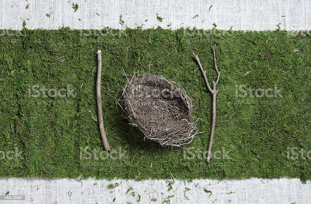 Organic Eating Concept stock photo